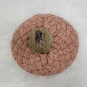 Stylish baby girl beanie